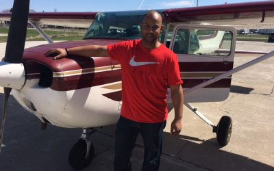 Andy Dessuit passes Checkride