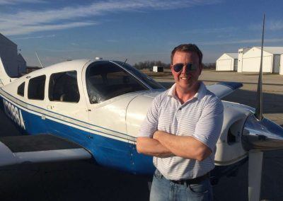 Mike Partin's first Solo Flight