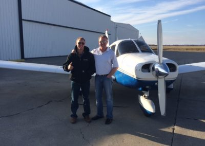 Mike Partin – First Solo with Region Flyers