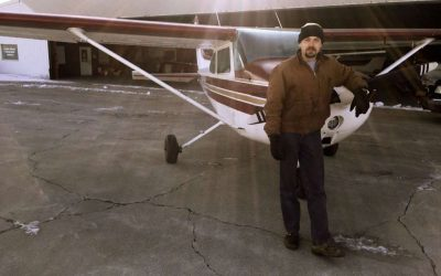 World's newest fixed-wing pilot!