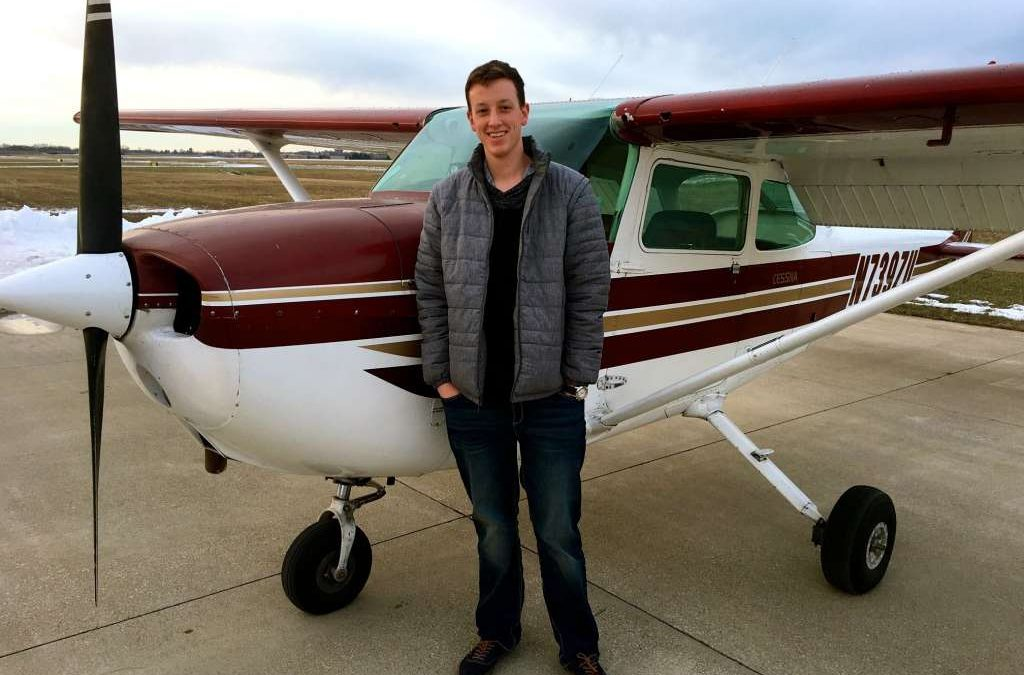 Josh Wittmer Earned his Private Pilot License Today!